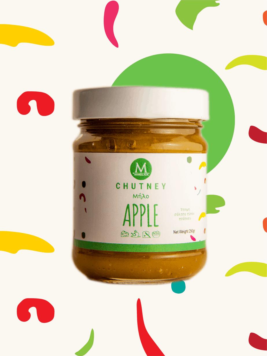 Τσάτνεϊ Μήλο - Apple chutney