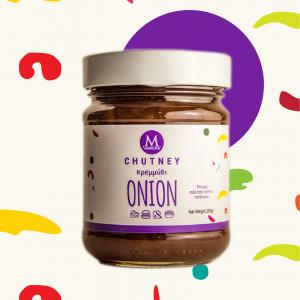 Τσάτνεϊ Κρεμμύδι - Onion Chutney
